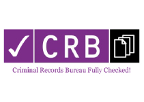 All our staff are CRB checked via Disclosure Scotland.