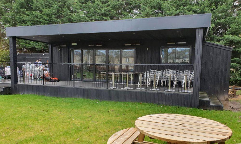 Craigie Hotel bar retail modular building