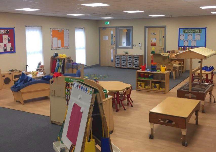The new interior at Honley nursery