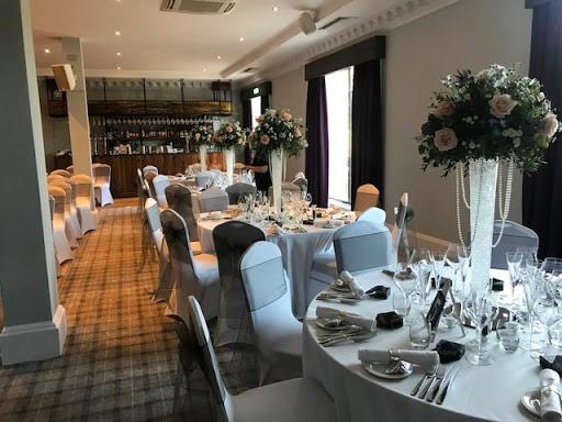 Inside the restaurant at Craigie Hotel
