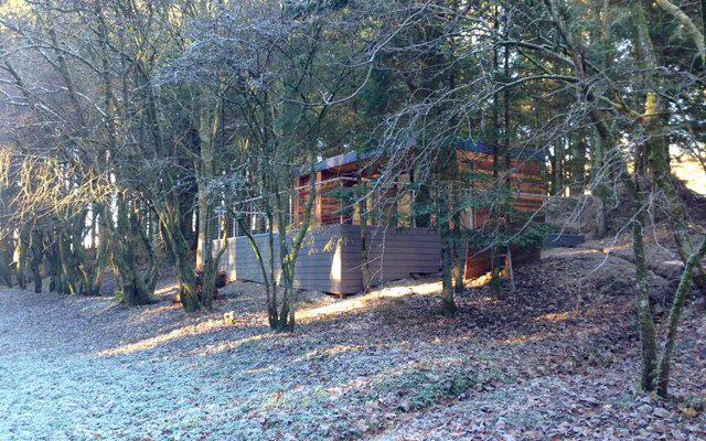 Modular Garden Pod in the woods