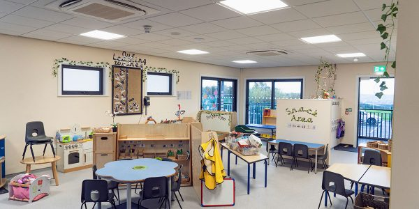 Inside the classroom at Low Ash Primary School